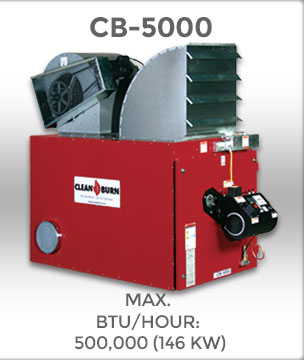 Cb 5000 Clean Burn 174 Waste Oil Furnaces Amp Boilers